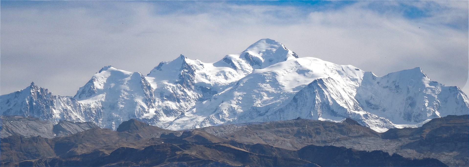 Mont Blanc depuis Praz de Lys Sommand