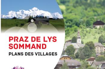 Plan des villages
