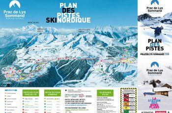 plan des pistes Nordiques