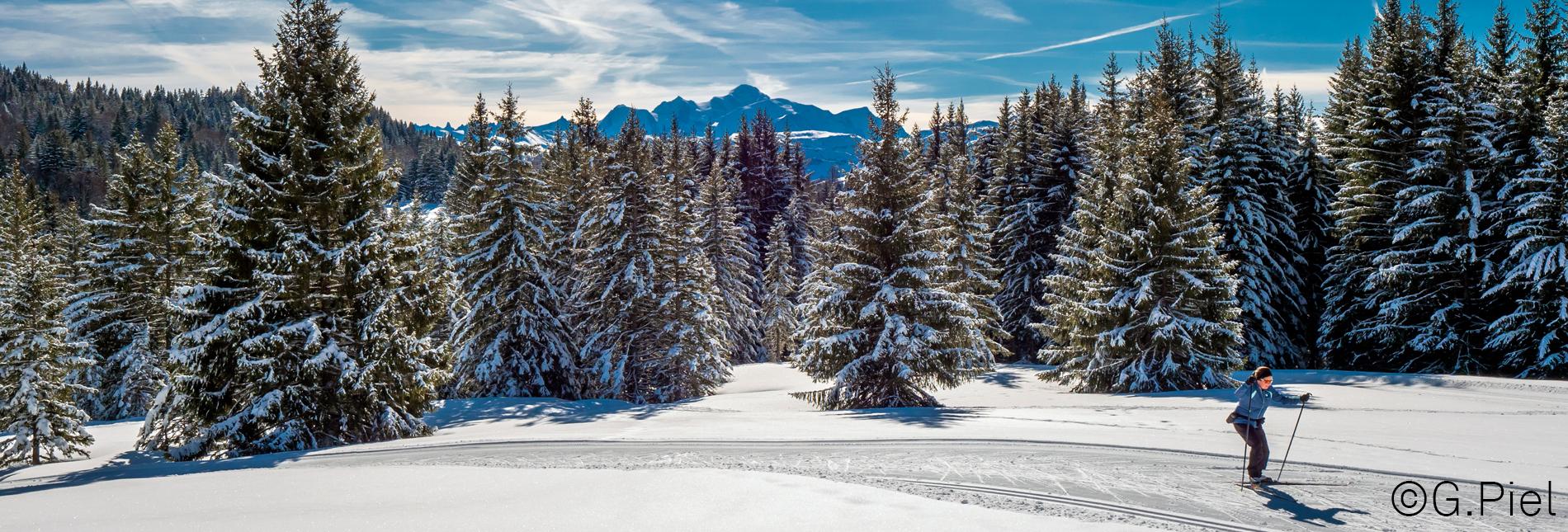 015 02 20 Ski de fond Praz © Gilles Piel